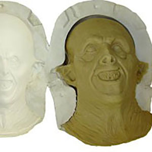 Latex Mask Final Mould